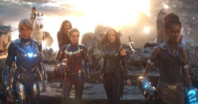 Avengers Endgame women