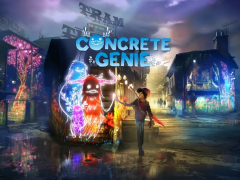 Concrete Genie review – urban art on the PS4