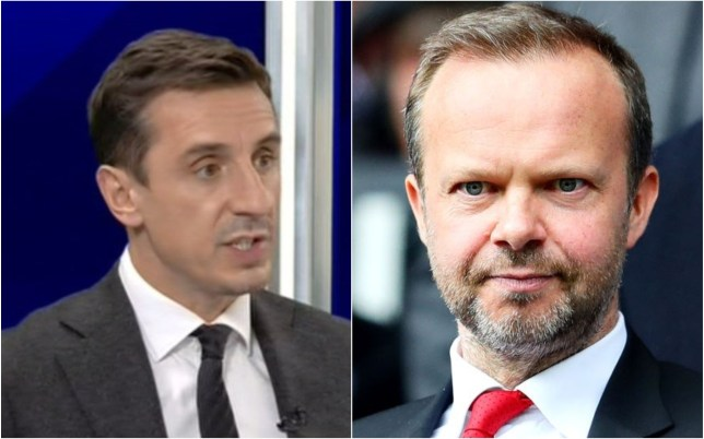 Gary Neville has urged Manchester United to get rid of Ed Woodward