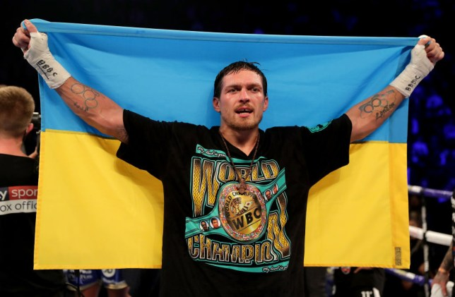 Oleksandr Usyk of Ukraine is set to make his heavyweight debut against Chazz Witherspoon