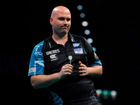 Michael van Gerwen the last seed standing at World Grand Prix after Rob Cross and Peter Wright crash out