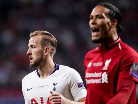 Harry Kane reminds Virgil van Dijk he is 'not invincible' ahead of Tottenham's trip to Liverpool
