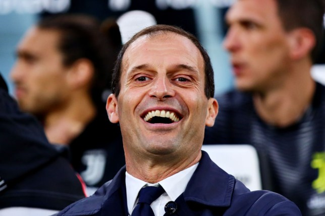 Massimiliano Allegri responds to reports he's set to become Manchester United manager