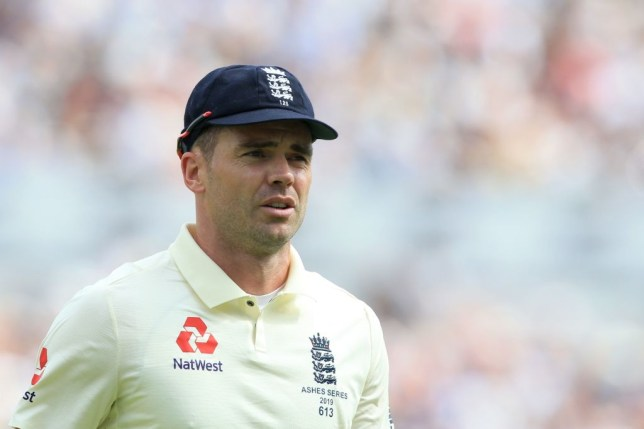 England hero James Anderson missed the bulk of the Ashes series through injury