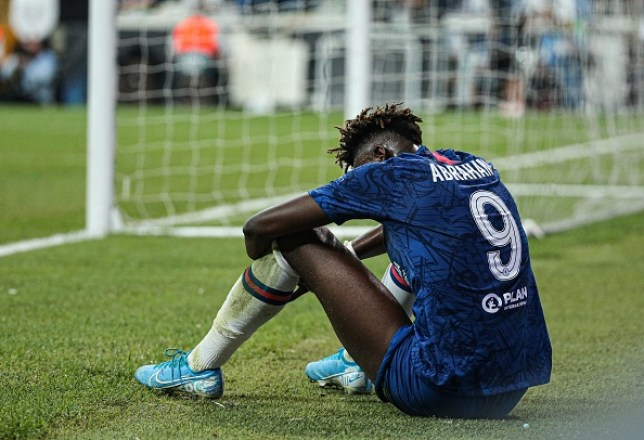 Tammy Abraham missed the decisive penalty in Chelsea's UEFA Super Cup defeat against Liverpool