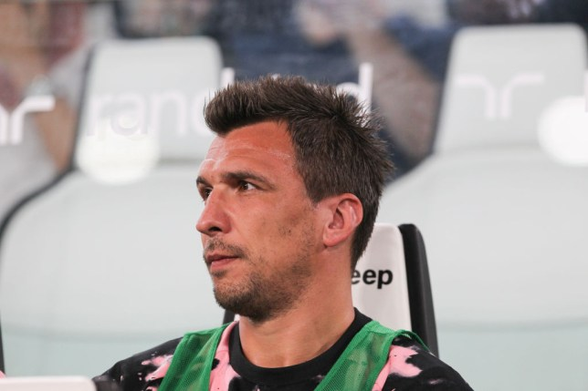 Juventus' Mario Mandzukic is at the top of Manchester United's transfer wishlist