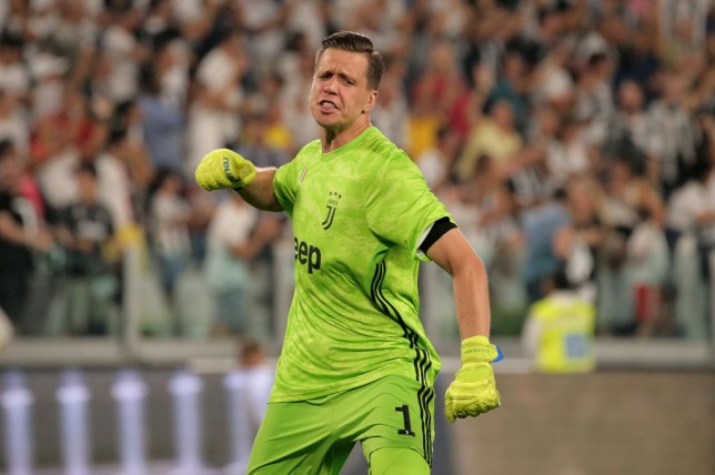 Wojciech Szczesny was wanted by Manchester United in the summer