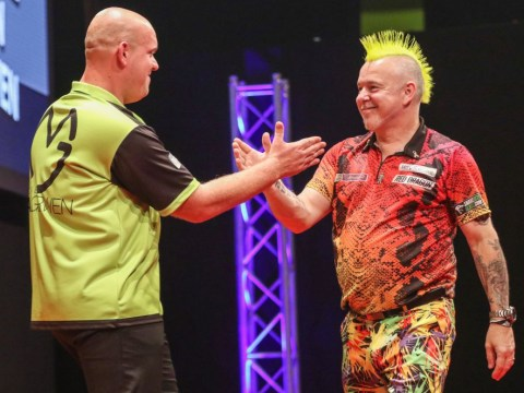 Michael van Gerwen mocks Peter Wright after Champions League win: 'He bottles it every time he plays me'