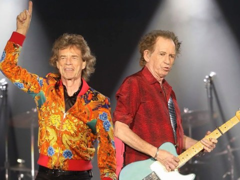 Keith Richards and Mick Jagger's plane began leaking fuel on the way to Prince's house