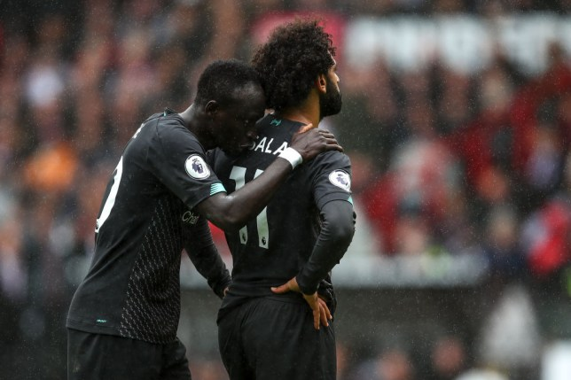 Sadio Mane was furious with Mohamed Salah's refusal to pass during Liverpool's victory at Burnley