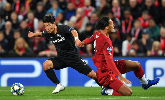 Arsenal transfer target Hwang Hee-chan impressed against Liverpool star Virgil van Dijk