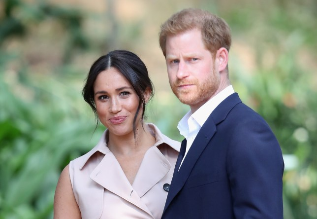 Prince Harry and Meghan Markle in Johannesburg