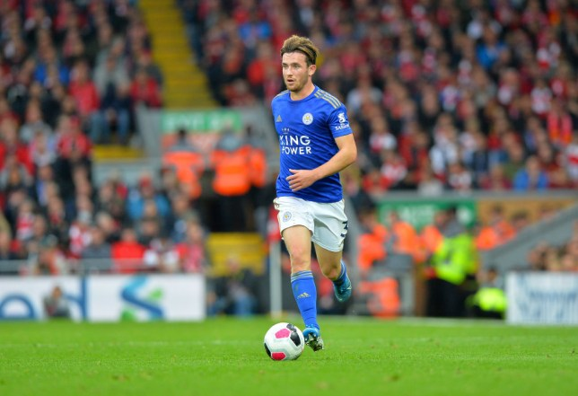 Ben Chilwell plays for Leicester