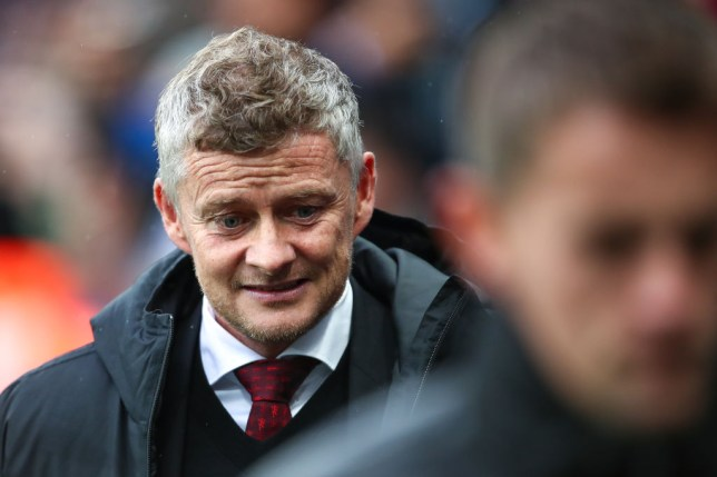 NEWCASTLE UPON TYNE, ENGLAND - OCTOBER 06: Ole Gunnar Solskjaer the head coach / manager of Manchester United during the Premier League match between Newcastle United and Manchester United at St. James Park on October 6, 2019 in Newcastle upon Tyne, United Kingdom. (Photo by Robbie Jay Barratt - AMA/Getty Images)