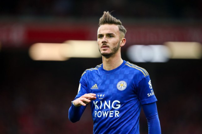 James Maddison has been heavily linked with a move to Manchester United