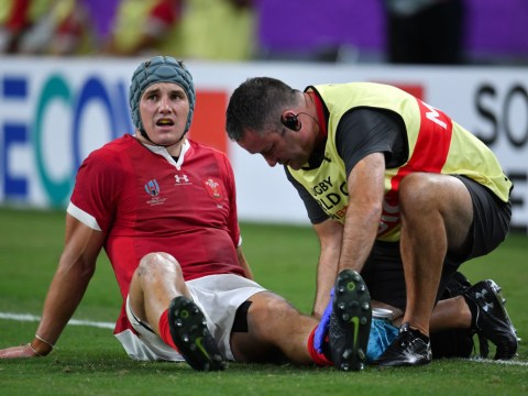 Jonathan Davies misses Wales' World Cup clash against France with injury