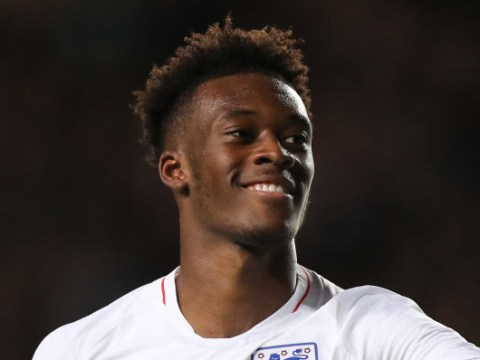 Chelsea star Callum Hudson-Odoi shows his class with fine double for England U21s against Austria