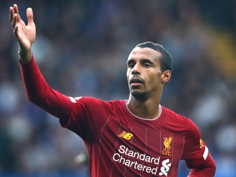 Jurgen Klopp rules Joel Matip out of Liverpool's clash with Leicester