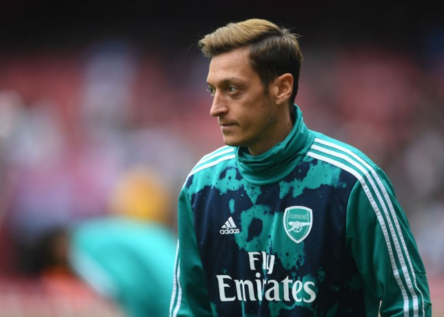Raul Sanllehi speaks out on Unai Emery axing Mesut Ozil from Arsenal squad