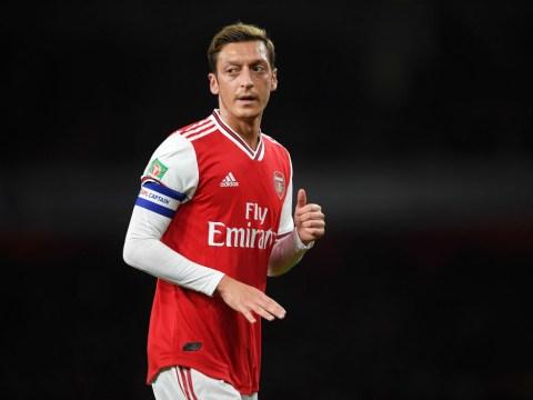 Arsenal boss Unai Emery explains Mesut Ozil return for Liverpool clash
