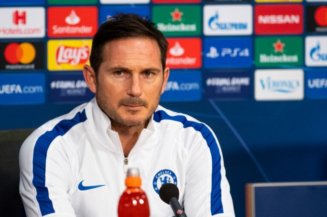 Frank Lampard's Chelsea face Burnley in the Premier League