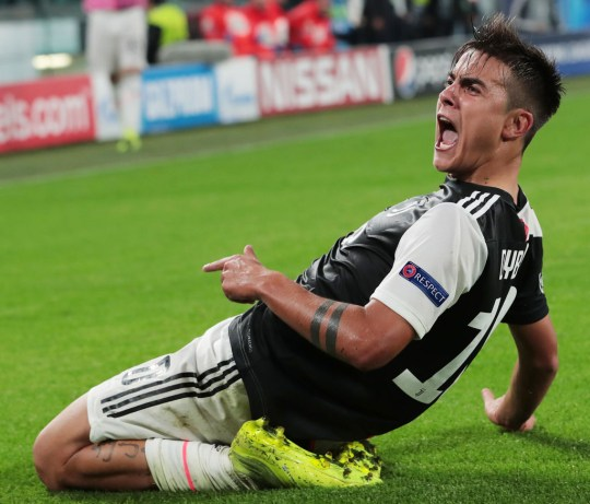 Paulo Dybala scored twice as Juventus came from behind to beat Lokomotiv Moscow