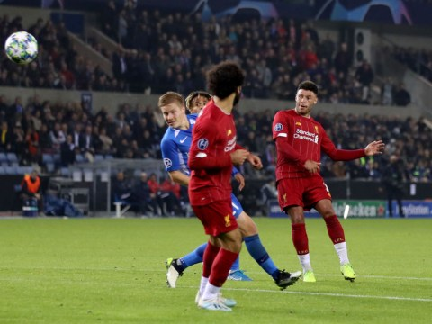 Alex Oxlade-Chamberlain wonder goal for Liverpool at Genk has Robin van Persie in awe