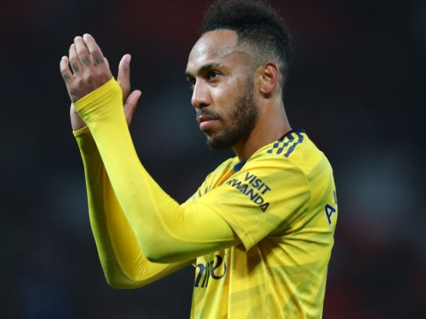 Arsenal star Pierre-Emerick Aubameyang praises team-mates' spirit after draw with Manchester United