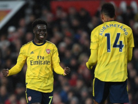 Jamie Carragher and Roy Keane praise Bukayo Saka's 'lovely' display after Arsenal draw with Manchester United