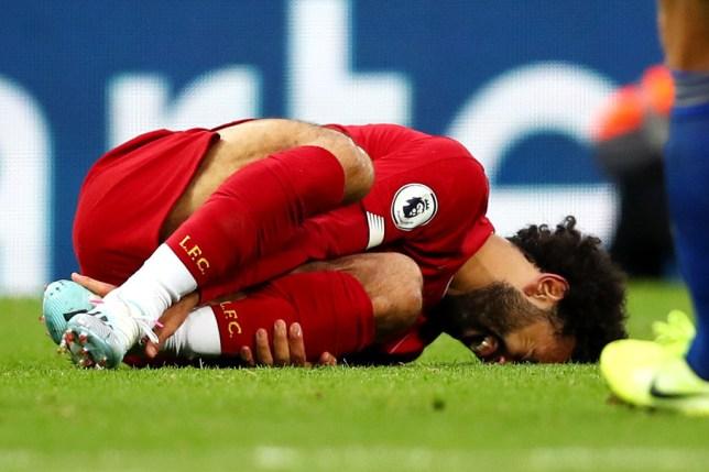 Furious Jurgen Klopp rages at Hamza Choudhury over tackle that injured Mohamed Salah