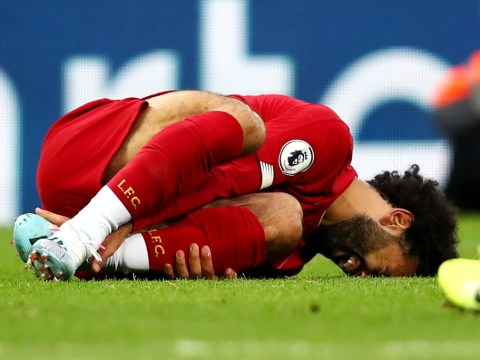 Liverpool hopeful Mohamed Salah has avoided serious injury