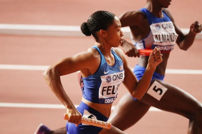Alyson Felix athletic runner
