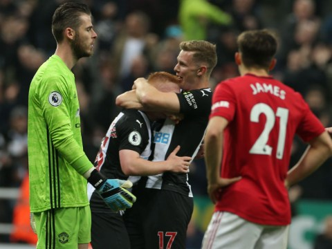David de Gea slams 'unacceptable' performance from Manchester United after Newcastle loss