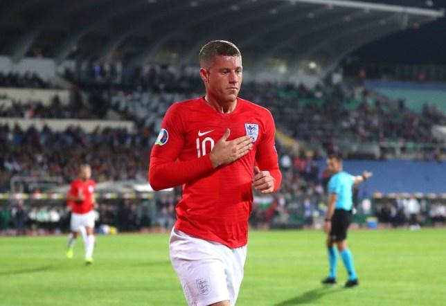 England midfielder Ross Barkley had a dream first half against Bulgaria