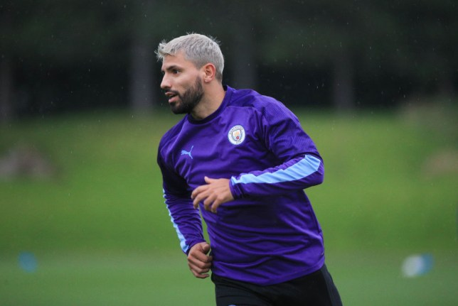 Sergio Aguero was involved in a car crash