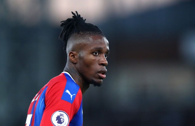 Arsenal manager Unai Emery is aware of Wilfried Zaha's threat ahead of the Crystal Palace clash