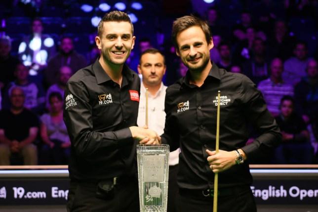 Mark Selby and David Gilbert
