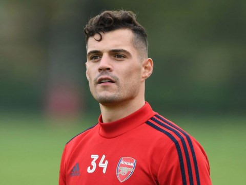 Granit Xhaka hits out at Arsenal fans in new interview after being stripped of captaincy
