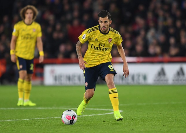 Dani Ceballos struggled to make an impact as second half substitute against Sheffield United