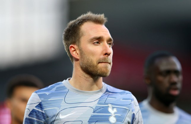 Christian Eriksen was desperate to leave Tottenham last summer