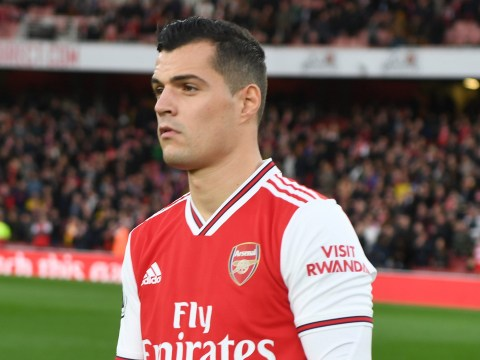 Swiss FA issue statement after Granit Xhaka tells Arsenal fans to 'f*** off'