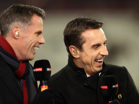 Gary Neville and Jamie Carragher react to shocking outburst from Arsenal captain Granit Xhaka