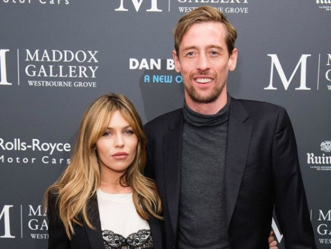 Peter Crouch's romantic moment with wife Abbey Clancy nearly got them killed