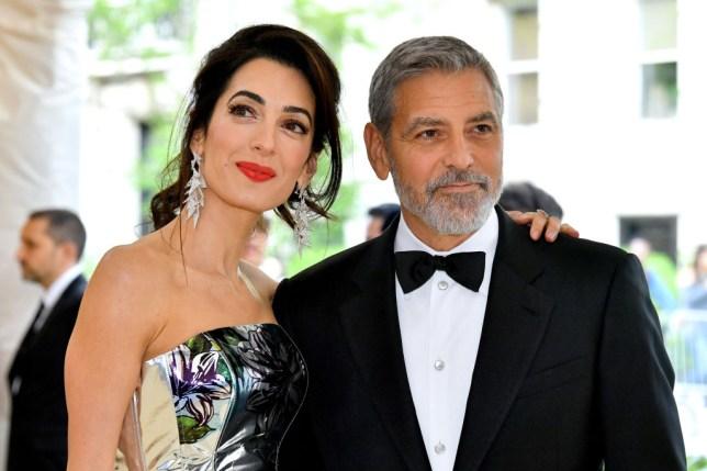 George Clooney wife Amal