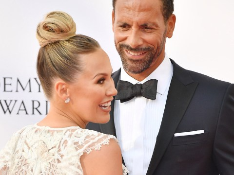 Kate Wright changes Instagram name after Rio Ferdinand wedding, and it's too cute