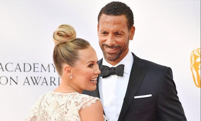 Rio Ferdinand and wife Kate Wright