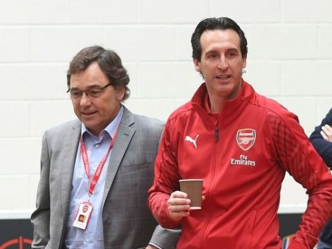 Raul Sanllehi says Unai Emery has been told Arsenal must qualify for the Champions League this season