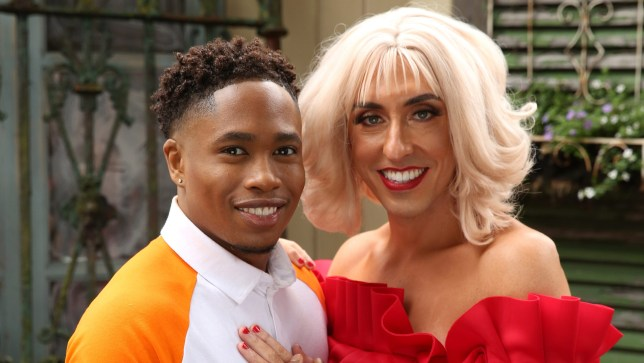 Mitchell and Anita in Hollyoaks