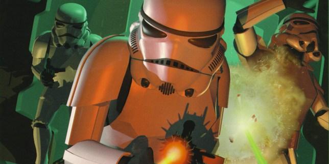 Star Wars: Dark Forces box art
