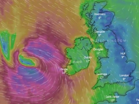 Ex-Hurricane Storm Lorenzo to hit UK today with strong winds and heavy rain